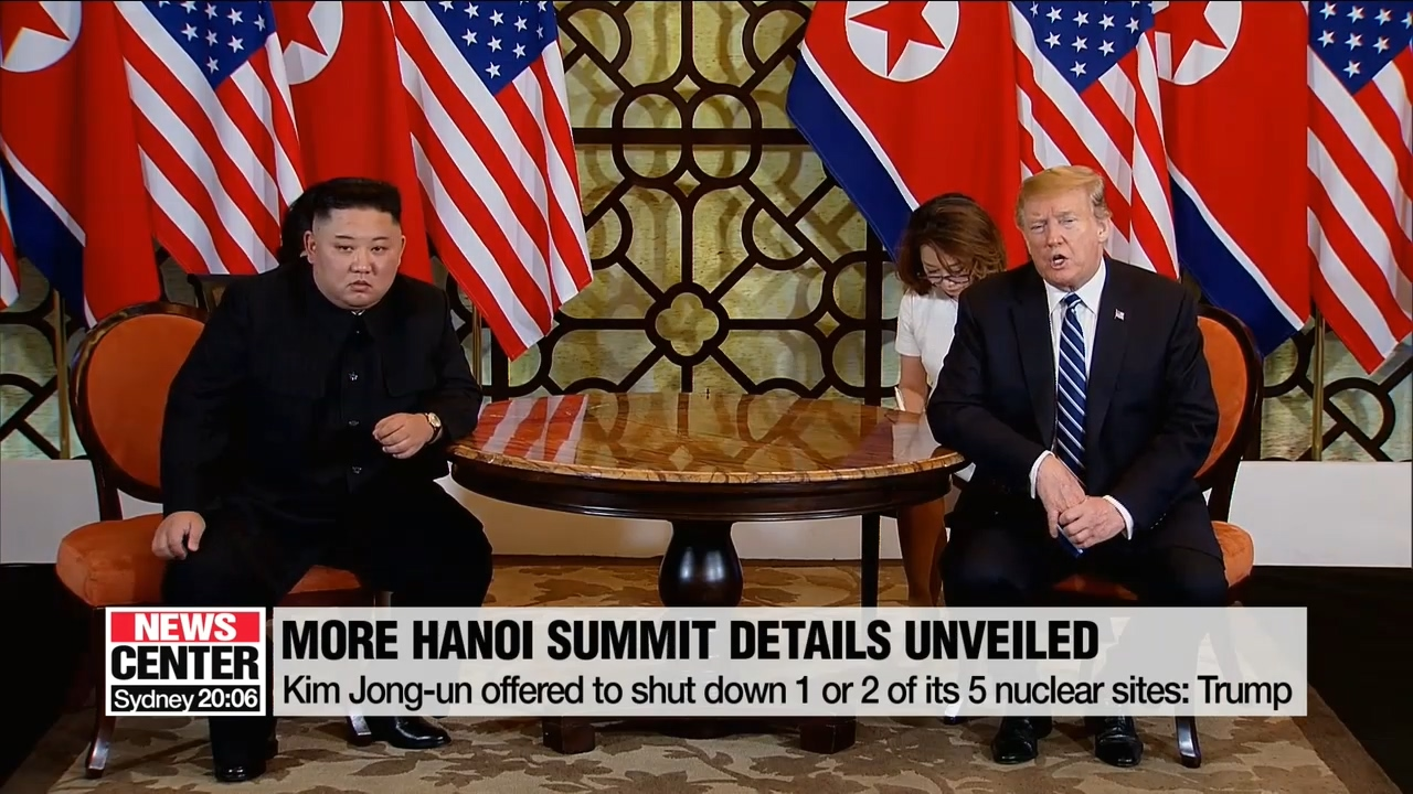 Kim Jong-un offered to shut down 1 or 2 of its 5 nuclear sites: Trump
