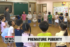 Premature puberty increasing among Korean children