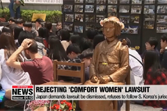 Japan rejects compensation lawsuit filed by 'comfort women' victims