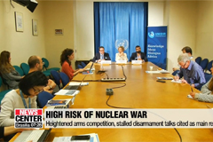 Risk of nuclear weapons at its highest since WWII: UNIDIR