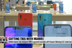 British based chip designer ARM suspends business with Huawei following U.S. trade ban