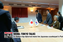 Foreign ministers of Seoul, Tokyo meet in Paris to discuss range of pending issues