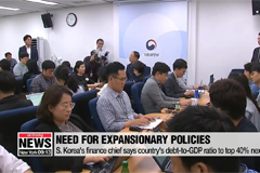 S. Korea's finance chief stresses need for expansionary fiscal policies despite rise in debt