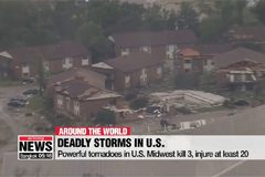 Powerful tornadoes in U.S. Midwest kill 3, injure at least 20