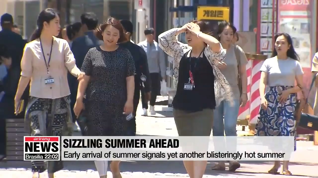 Very hot summer expected in S. Korea this year