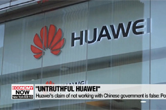 Huawei not being truthful about ties to Chinese gov't: Pompeo