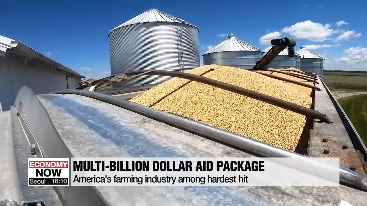 Trump announces US$16 bil. aid package for American farmers affected by trade war with China
