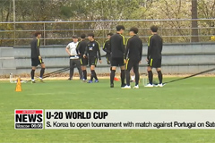 S. Korea to play Portugal at U-20 World Cup on Saturday