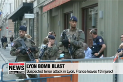 Suspected terror attack injures 13 in Lyon, France