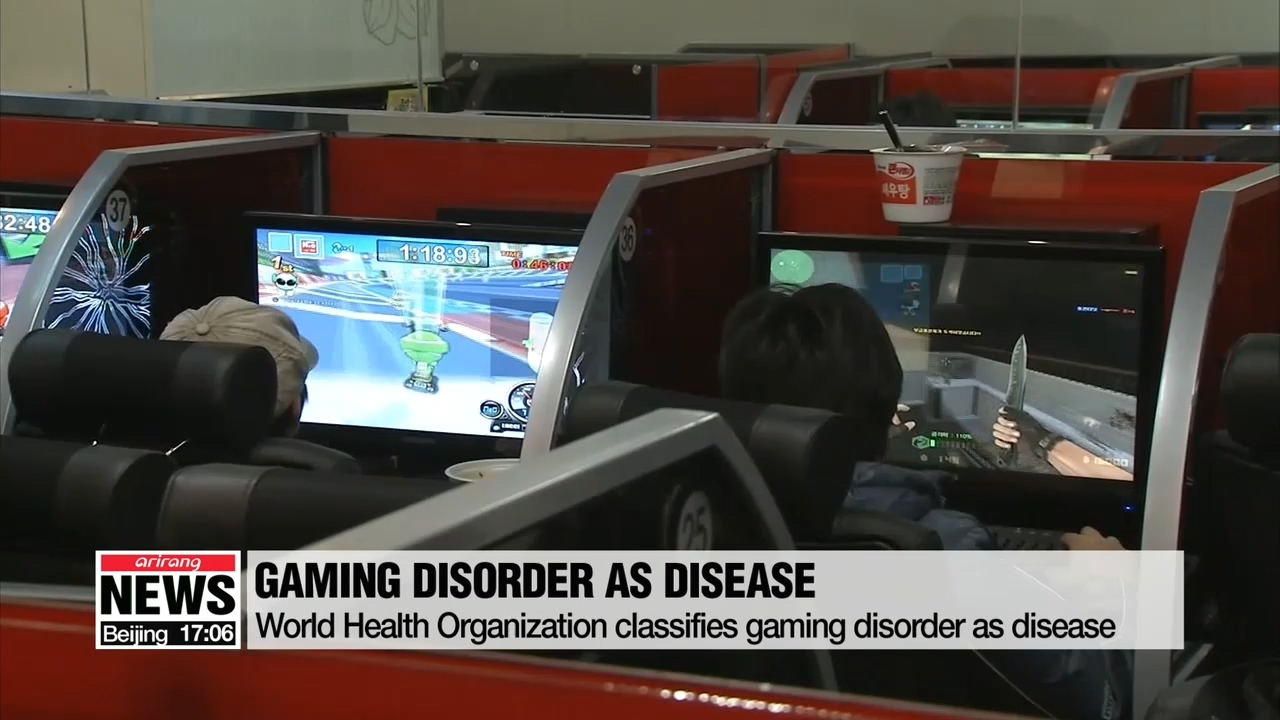 WHO includes gaming disorder as disease