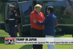 Trump says there's 'great progress' on trade negotiations with Japan