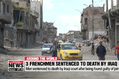 Iraq sentences French citizens to death for joining Islamic State