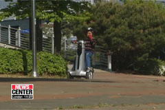 Korean researchers develop mobility scooter to reduce elderly pedestrian accidents