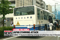 Japan stabbing spree kills 2 victims, including schoolgirl, in Kawasaki city
