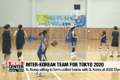 N. Korea willing to form unified teams with S. Korea at 2020 Olympics