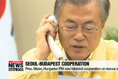 Moon orders gov't to deploy 'all available resources' to rescue S. Korean tourists