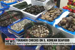 Japan to toughen quarantine inspections of S. Korean marine products from June