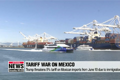 Trump threatens to impose 5 percent tariff on all Mexican imports from June 10