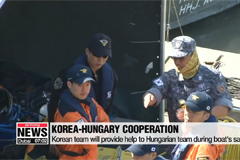 Underwater search for 19 missing Koreans continues on Danube, boat may be salvaged soon