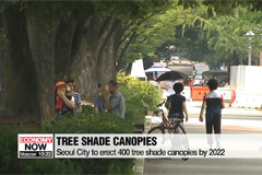 Life & Info: Seoul City to erect 400 tree shade canopies by 2022