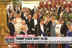 Trump gets royal welcome on first day of his state visit to UK