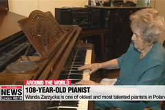 108-year-old pianist doesn't let age stop her playing