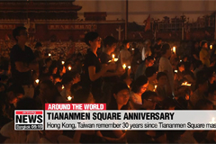 Hong Kong, Taiwan remember 30 years since Tiananmen Square massacre