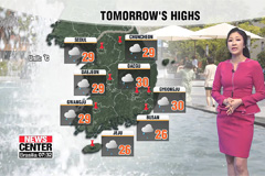 Strong winds and rain expected tomorrow