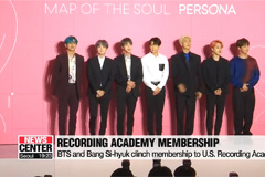 BTS and Bang Si-hyuk to join voting for Grammy Awards