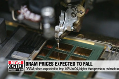 DRAM prices expected to drop as much as 15% in Q3