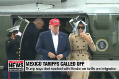 Trump says agreement reached with Mexico on migrants and tariffs
