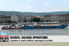 Latest on search, salvage operations on the Danube - Live from Budapest