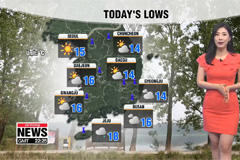 Rain in some parts, warm and sunny in central regions