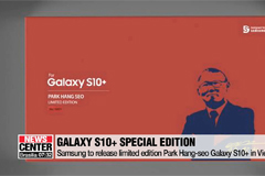 Samsung to release limited edition Park Hang-seo Galaxy S10+ in Vietnam
