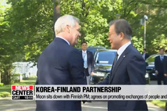 Korea, Finland agree on boosting cooperation on startup activities