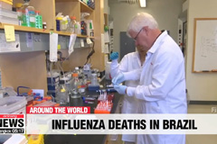 222 people in Brazil died from influenza in through May 25th, uptick in H1N1 cases