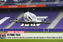 Uber to launch flying taxis by 2023