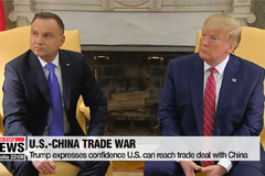 Trump expresses confidence U.S. can reach trade deal with China