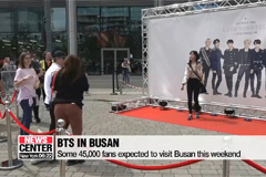Busan gets ready for BTS per