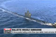 N. Korea possibly building another Sinpo-class ballistic missile submarine: 38 North