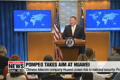 Huawei poses risk to national security: Pompeo