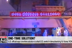 U.S. official says one-time solution is what U.S. seeks in denuclearizing N. Korea: VOA