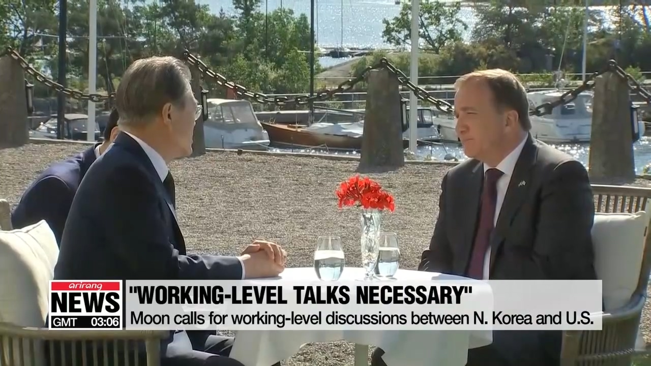 Moon says working-level talks should come before summit meeting to avoid no-deal summits like in Hanoi