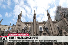 Notre Dame Cathedral holds first mass since Paris fire