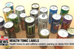 Health tonics to add caffeine