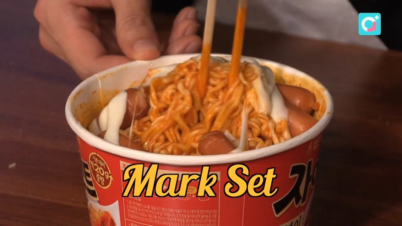 Creating interesting dishes using food from Korean convenience stores