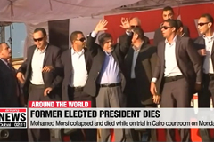 Mohamed Morsi, Egypt's first democratically elected president, dies