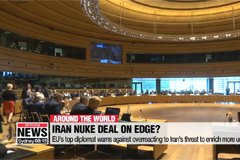 EU's top diplomat warns against overreacting to Iran's threat to enrich more uranium