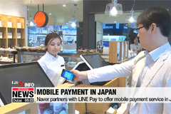 Naver partners with LINE Pay t