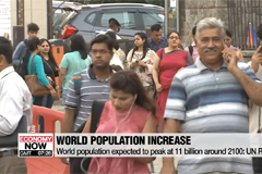 World population expected to p